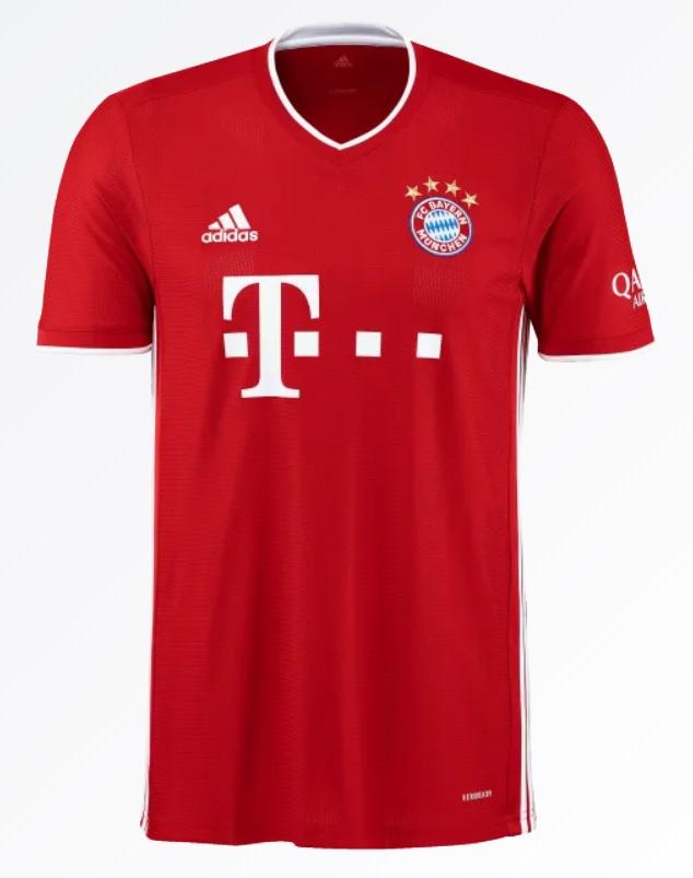 FC Bayern München Thuisshirt 2020-2021
