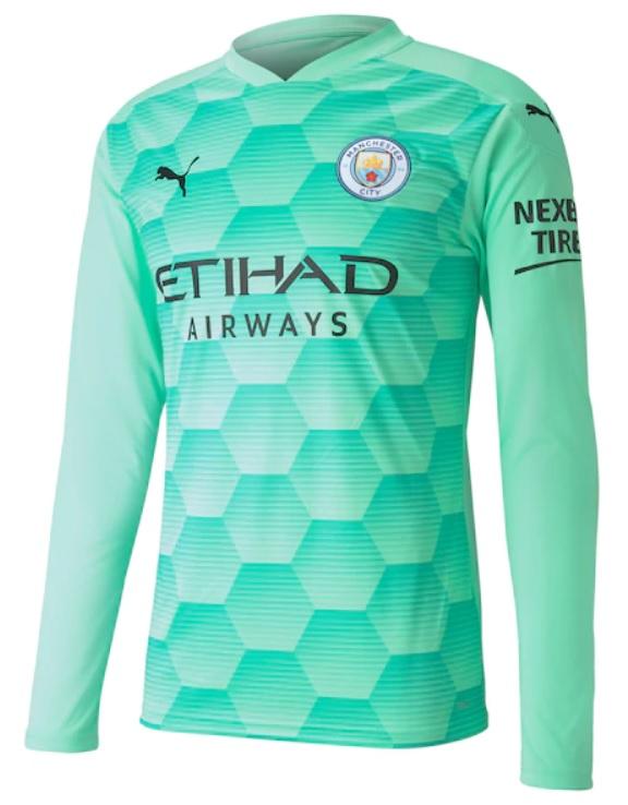 Manchester City Keepersshirt 2020-2021 - 2