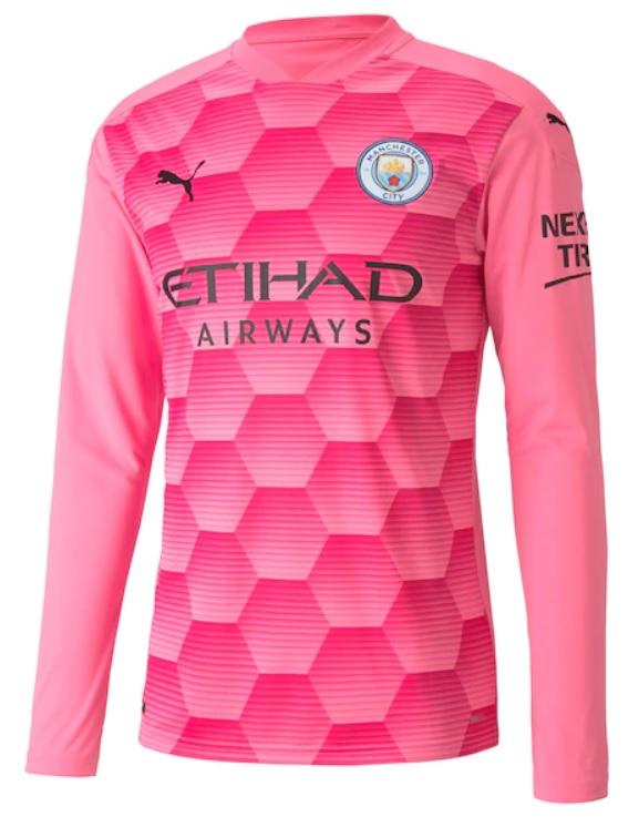 Manchester City Keepersshirt 2020-2021 - 3