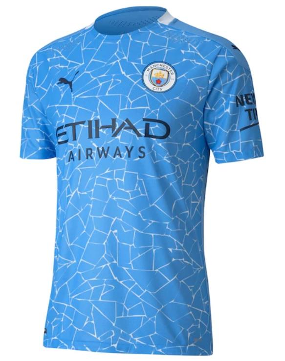 Manchester City Thuisshirt 2020-2021