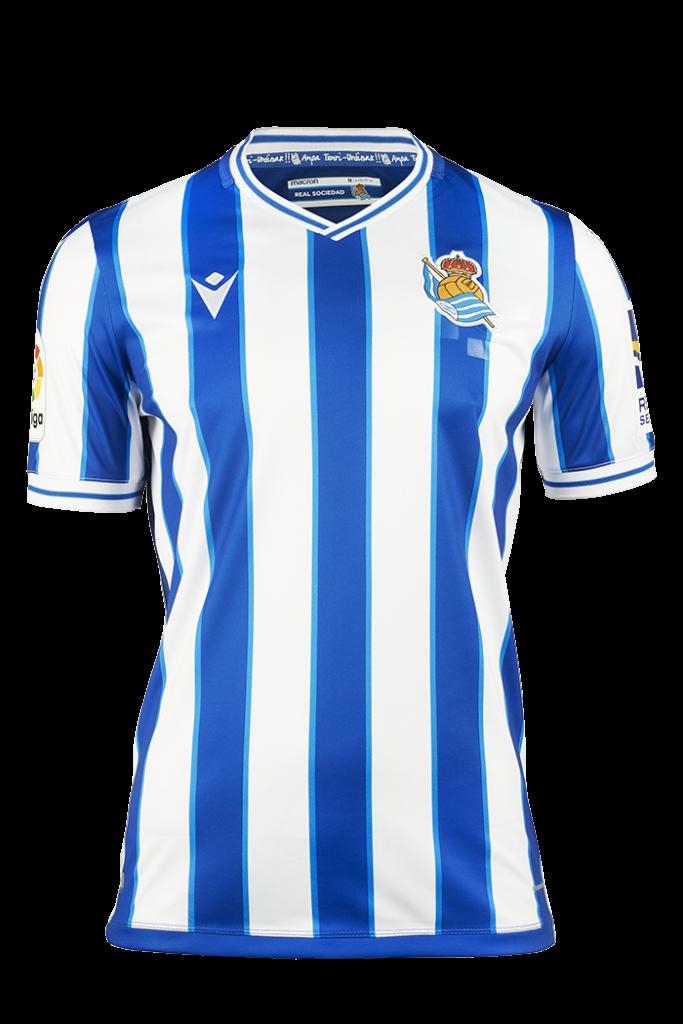 Real Sociedad Thuisshirt 2020-2021