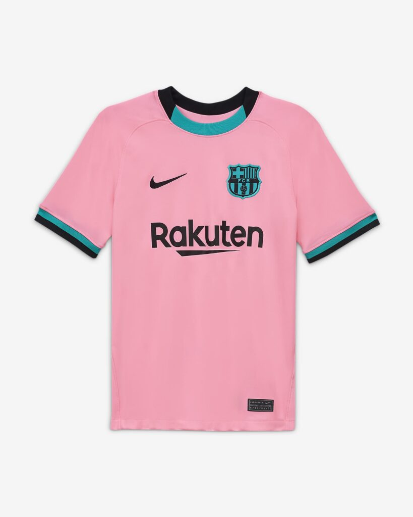 Barcelona alternatiefshirt 2020-2021