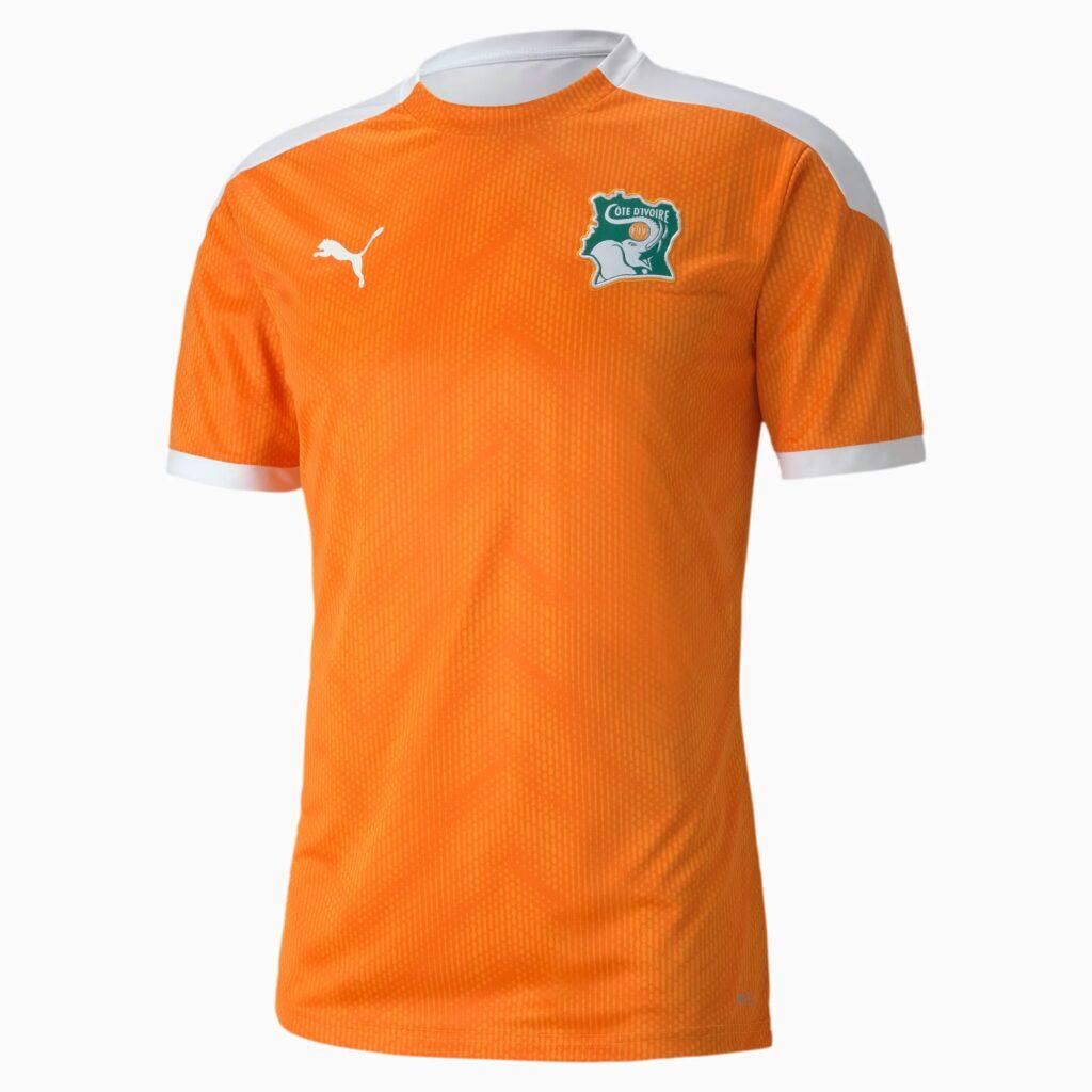 Ivoorkust trainingsshirt 2020-2021