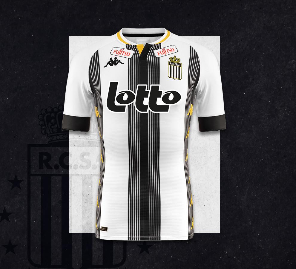 Charleroi FC thuisshirt 2020-2021
