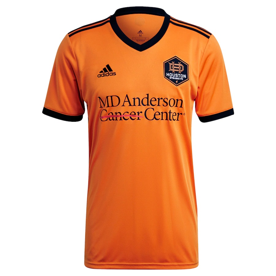 Houston Dynamo thuisshirt 2021-2022