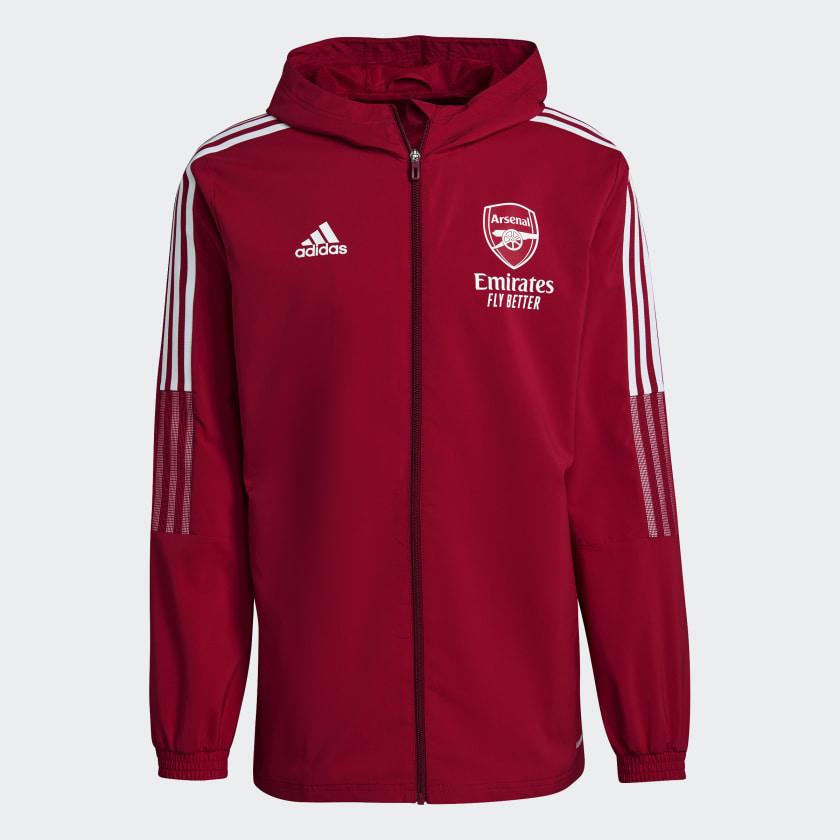 Arsenal trainingsjack 2020-2021 - 11