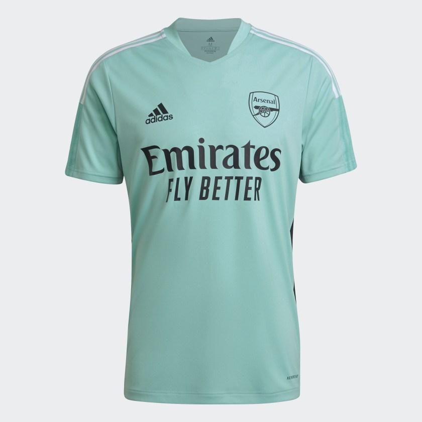 Arsenal trainingsshirt 2021-2022