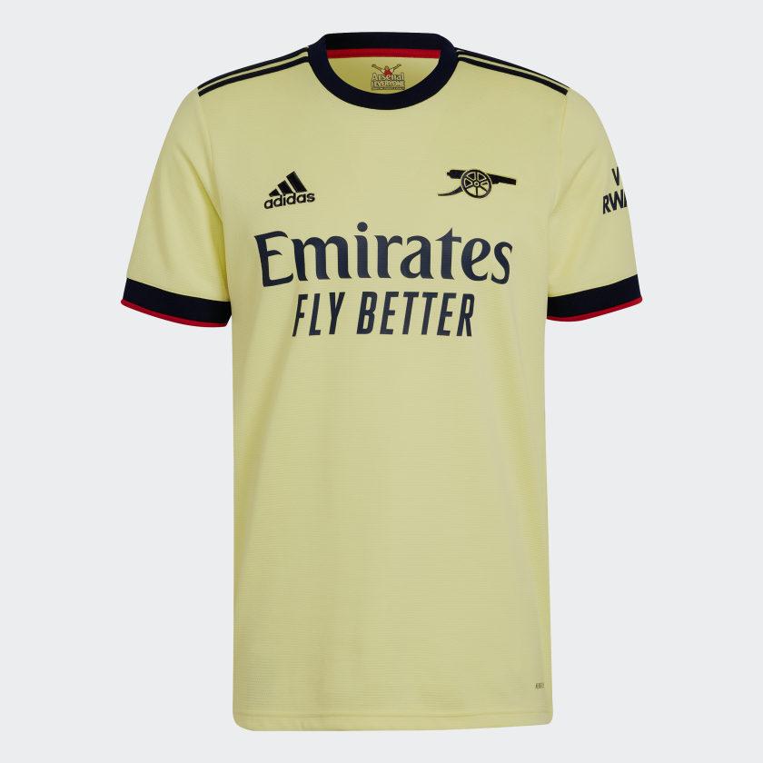 Arsenal uitshirt 2021-2022