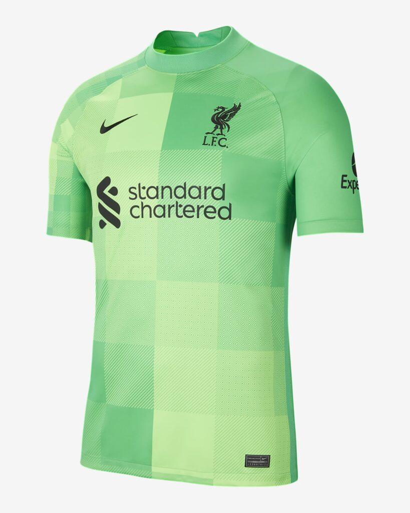 Liverpool keepersshirt 2021-2022