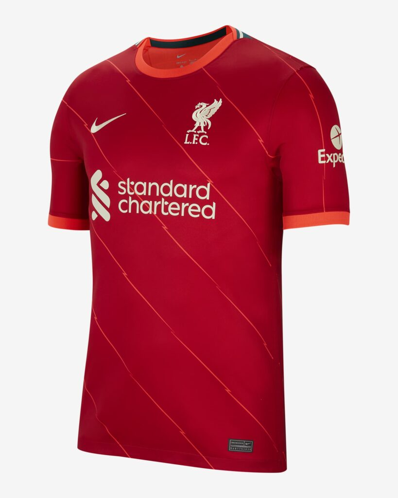 Liverpool thuisshirt 2021-2022