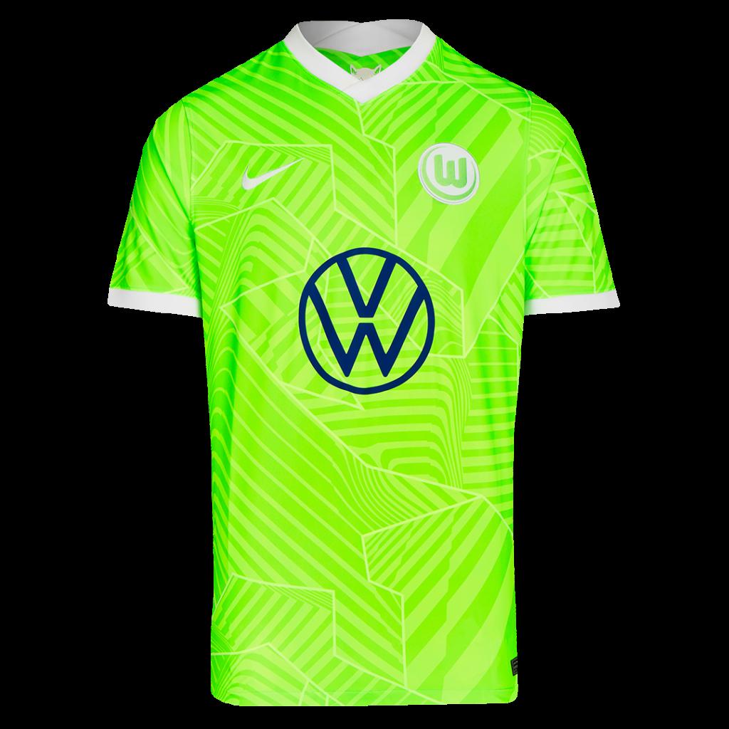 VfL Wolfsbrug thuisshirt 2021-2022
