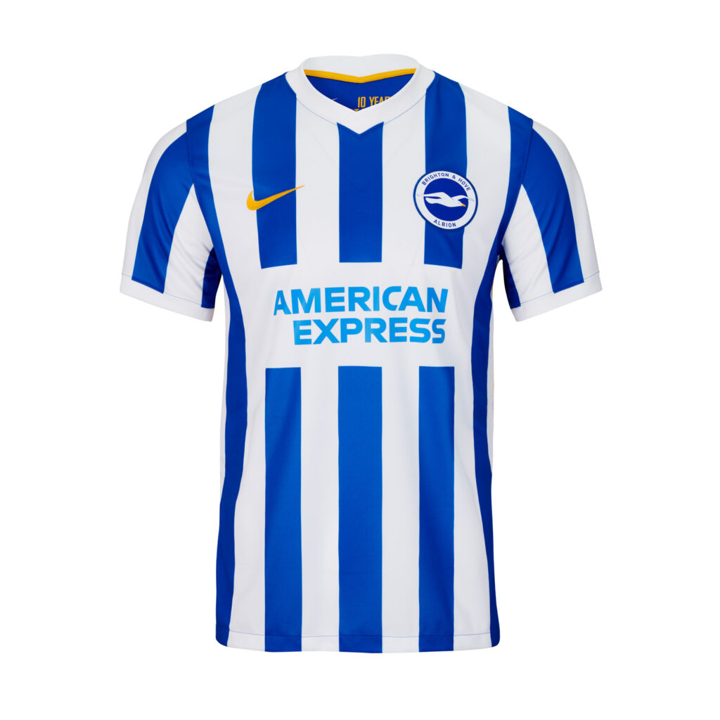 Brighton and Hove Albion thuisshirt 2021-2022