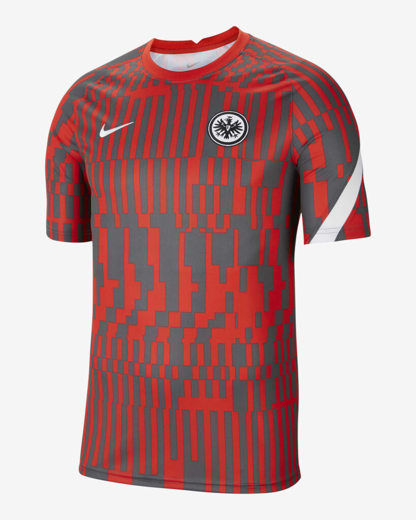 Eintracht Frankfurt trainingsshirt 2020-2021