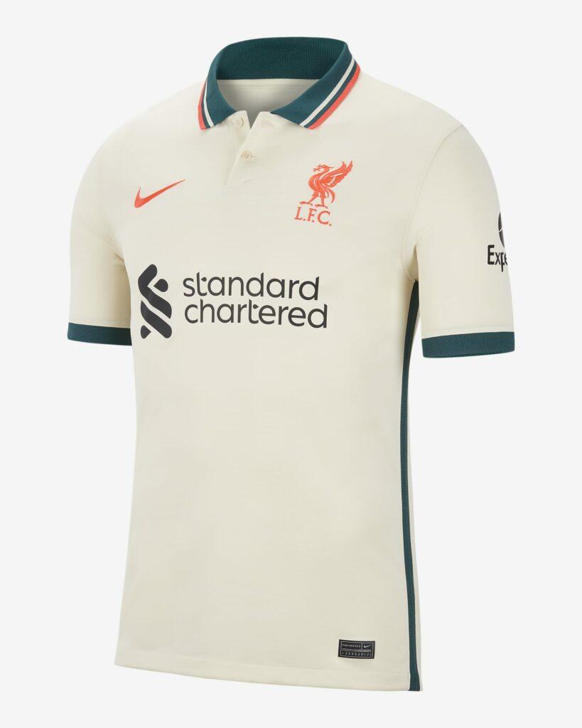 Liverpool uitshirt 2021-2022