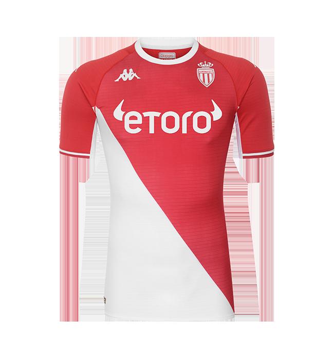 Monaco thuisshirt 2021-2022