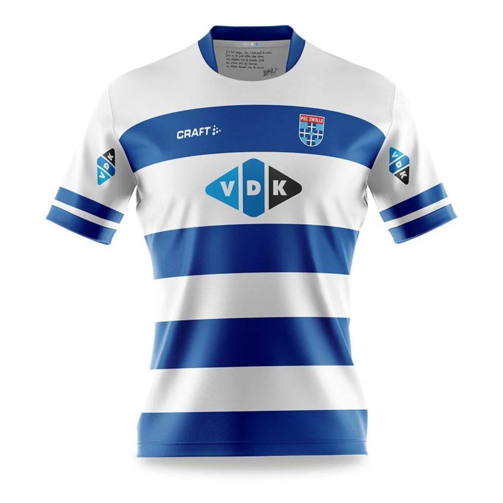 PEC Zwolle thuisshirt 2021-2022