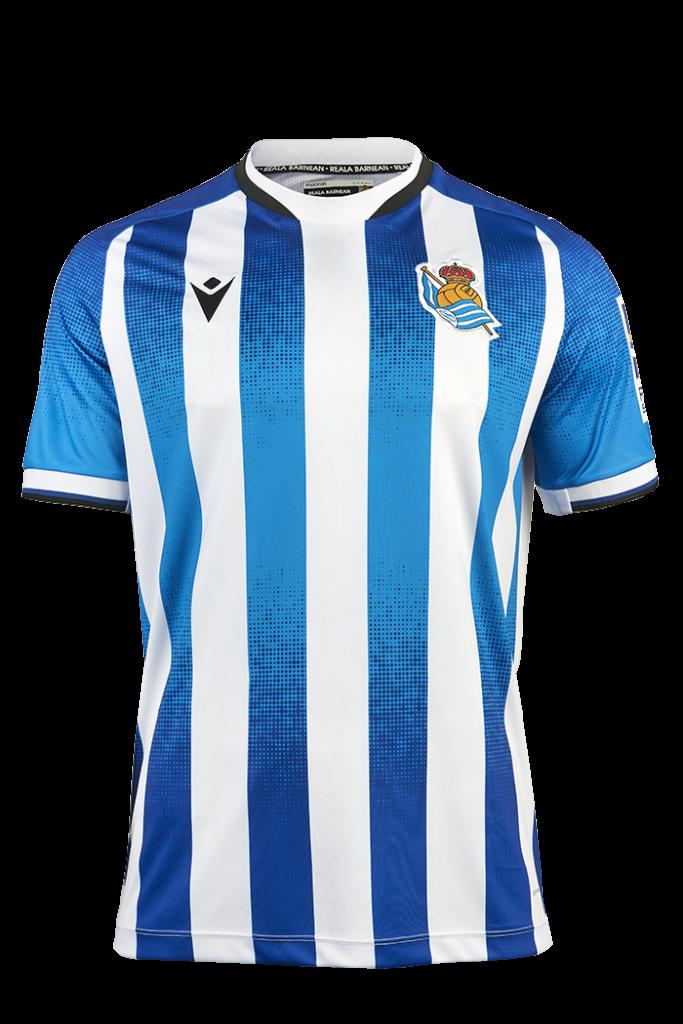 Real Sociedad thuisshirt 2021-2022