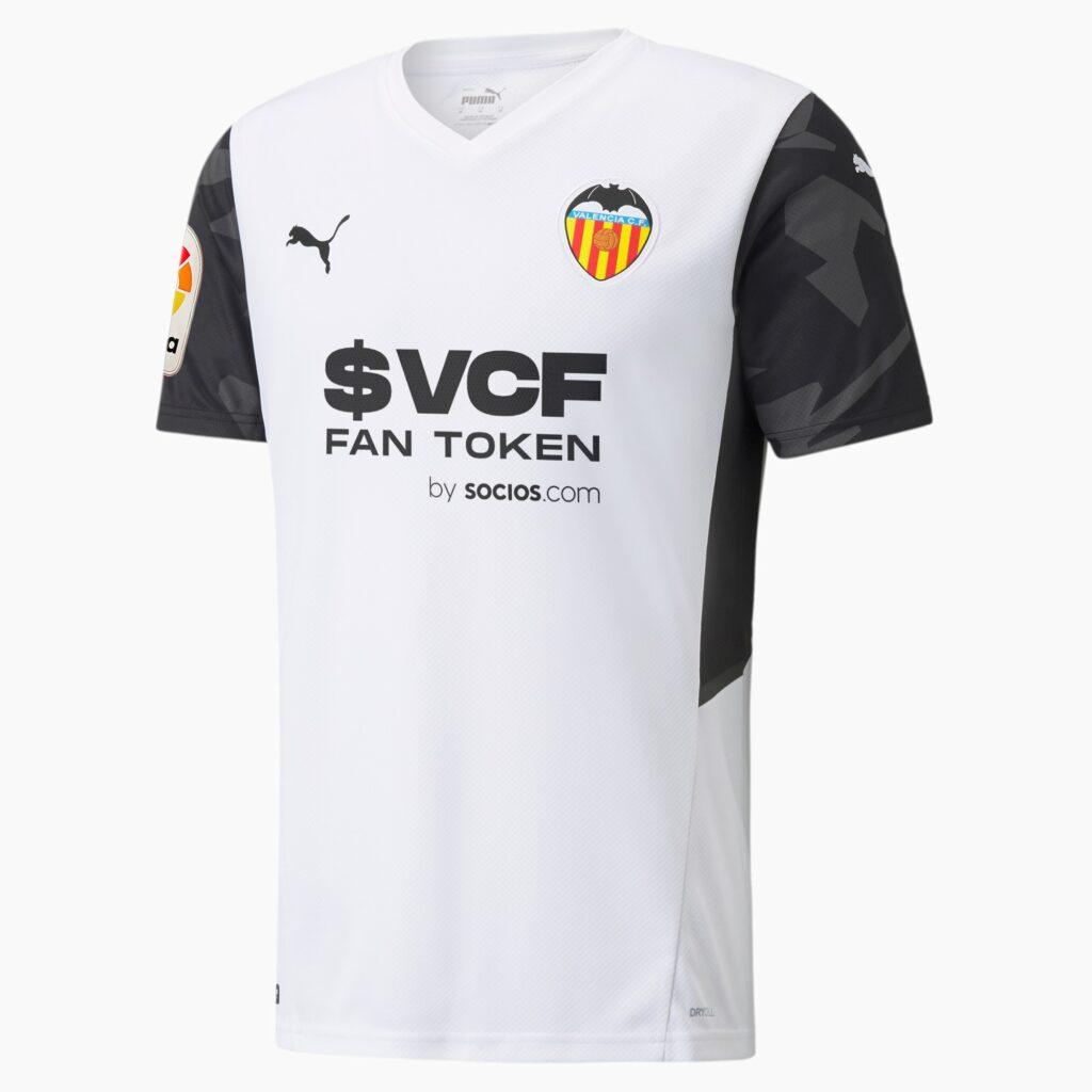 Valencia CF thuisshirt 2021-2022