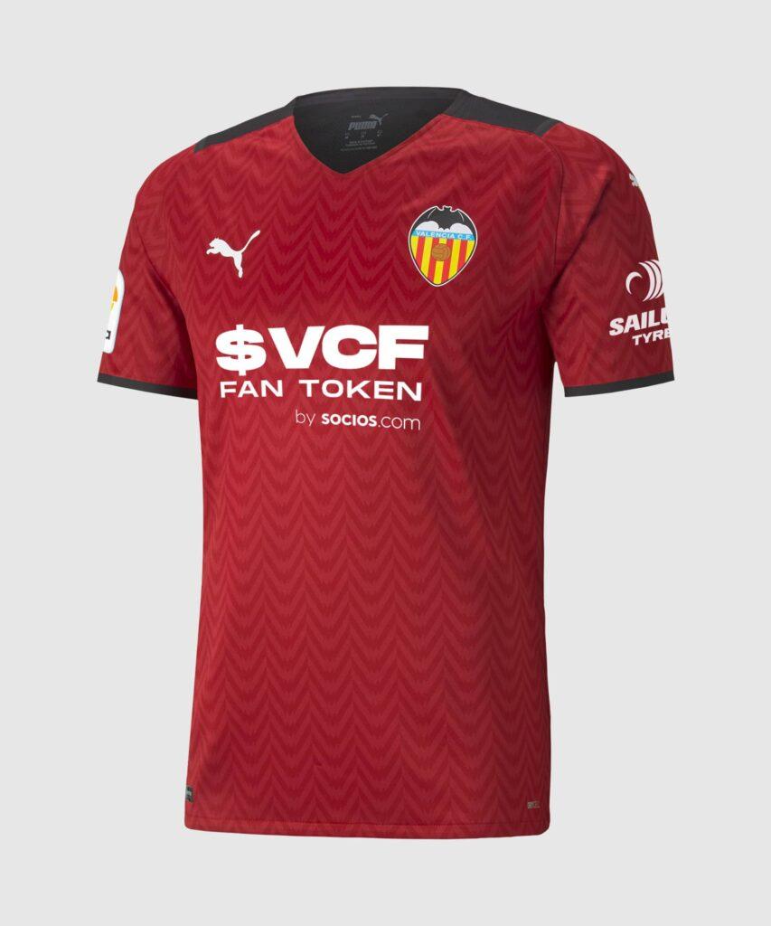 Valencia CF uitshirt 2021-2022