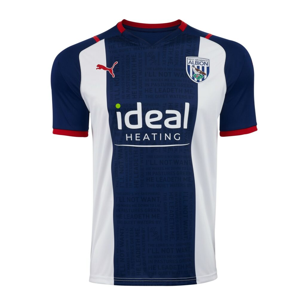 West Bromwich Albion thuisshirt 2021-2022