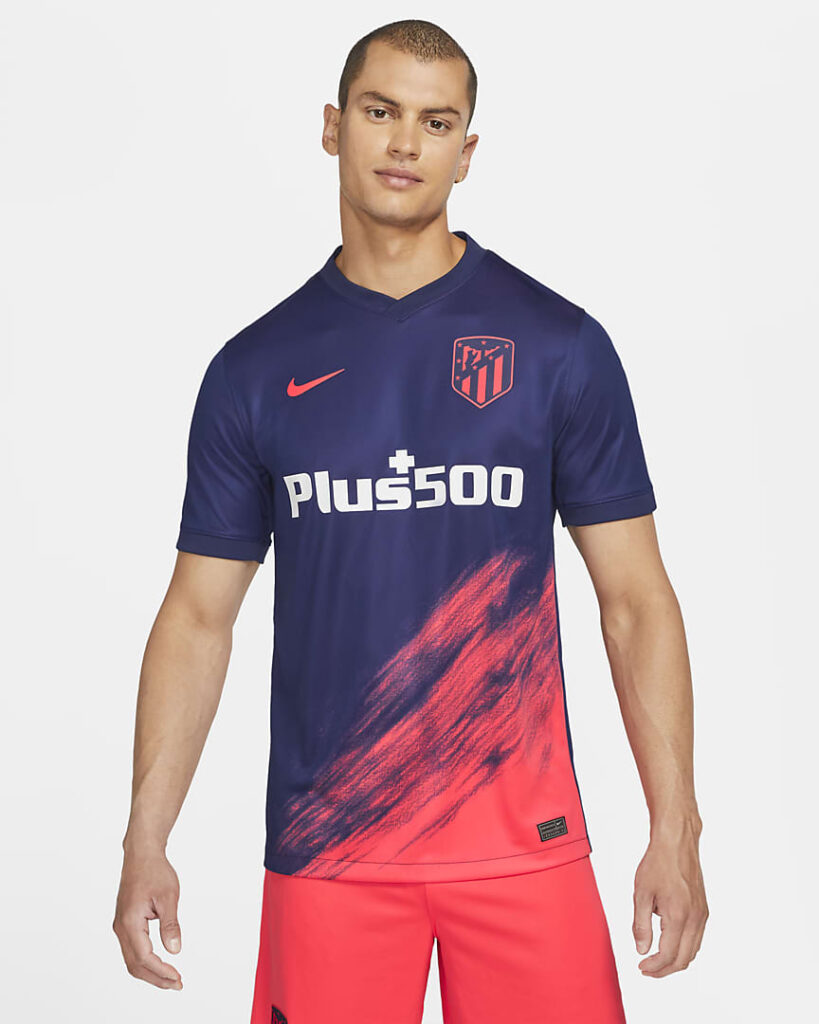 Atlético de Madrid uitshirt 2021-2022