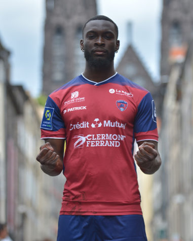 Clermont Foot thuisshirt 2021-2022