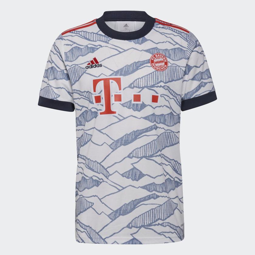 Fc Bayern München alternatiefshirt 2021-2022