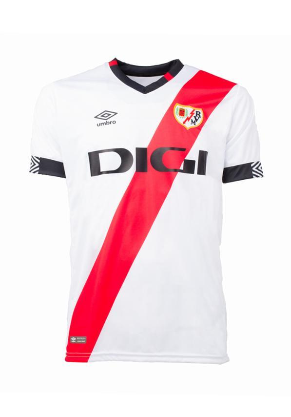 Rayo Vallecano thuisshirt 2021-2022
