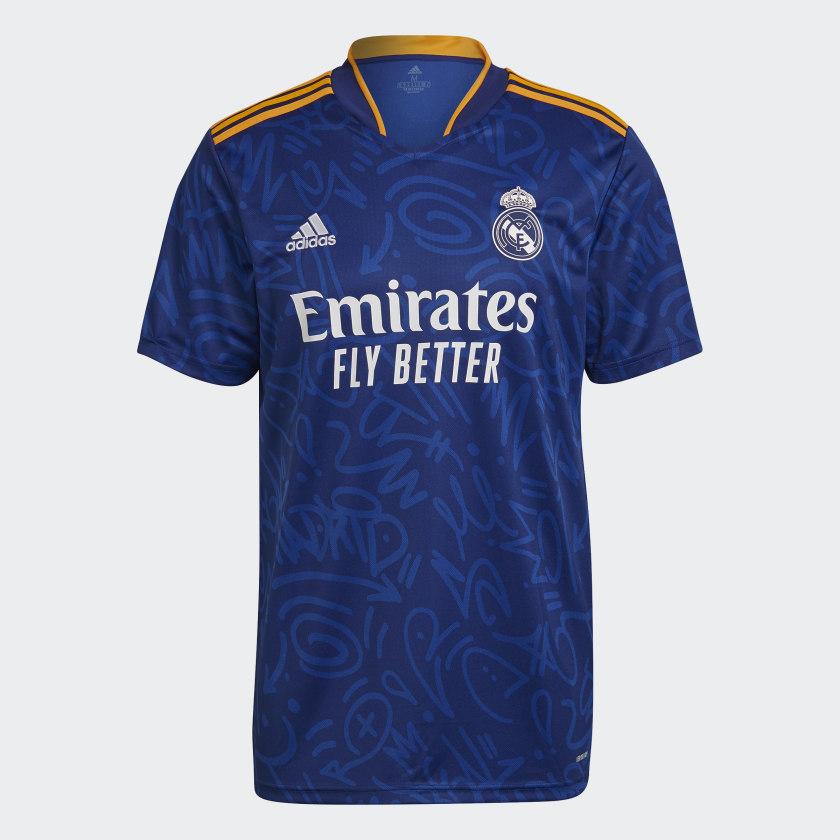 Real Madrid uitshirt 2021-2022