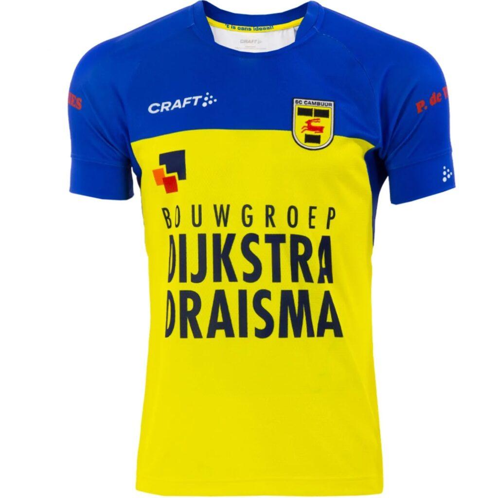 SC Cambuur thuisshirt 2021-2022