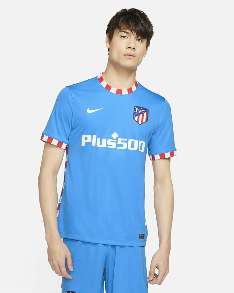 Atlético de Madrid alternatiefshirt 2021-2022