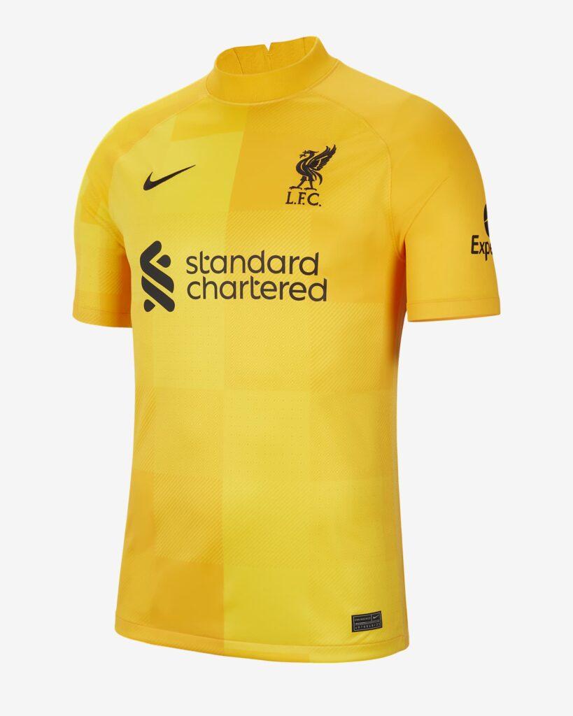 Liverpool keepersshirt 2021-2022 - 2